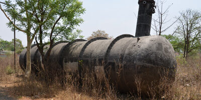 Abandoned Holding Tank From Which MIC Gas Escaped.